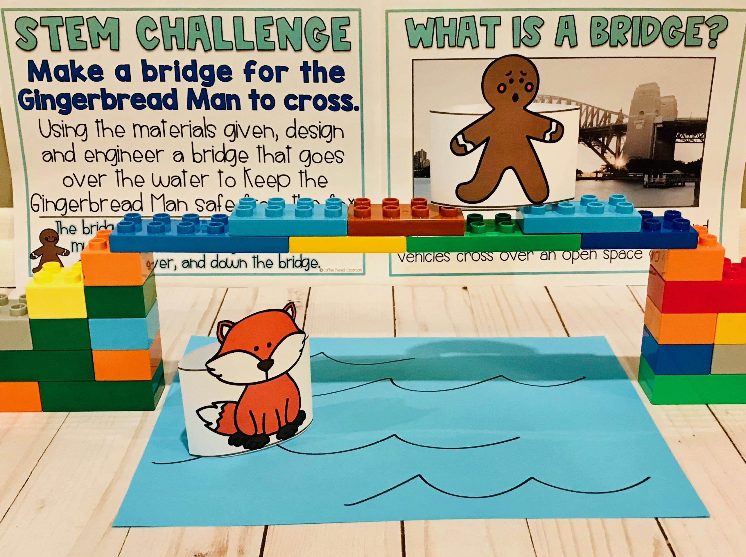 Gingerbread Man Stem Activities Coffee Fueled Classroom